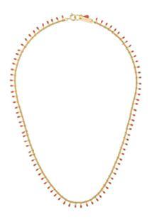 Isabel Marant Casablanca Short Necklace - Rosa