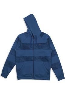 Moletom Ocean Stripe F/Z Fleece Oakley