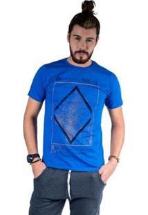 Camiseta Mister Fish Estampado Premium Quality Masculina - Masculino-Azul Royal