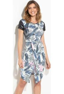 2ecfa024a5 Vestido Algodao Cirre feminino