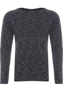 Camiseta Masculina Listras - Preto