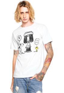 Camiseta Snoopy Friends Branca