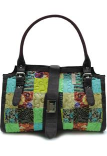 Bolsa Nuanda Clover Em Patchwork Original - Multicolorido - Feminino - Dafiti