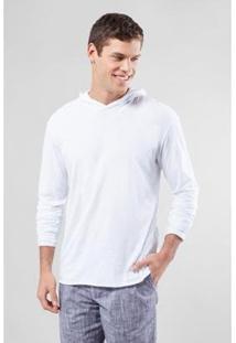 Camiseta Pf Leve Ml Reserva Masculina - Masculino-Branco