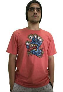 Camiseta Santa Cruz Gnar Hand Coral