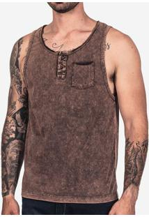 Regata Henley Chocolate Stone 101927