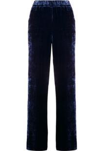 P.A.R.O.S.H. Calça Reta - Azul