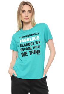 Camiseta Forum Fabulous Verde