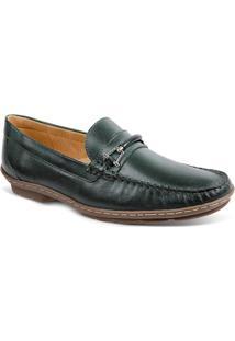 Sapato Masculino Loafer Sandro Moscoloni New Picasso Verde