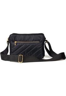 Bolsa Blue Bags Tiracolo Nylon Feminina - Feminino-Preto