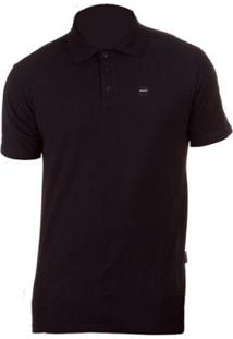 ... Camisa Polo Oakley Patch 2.0 Blackout - Masculino-Preto b36b269af927f