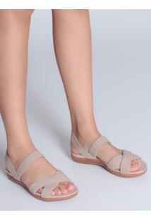 Sandália Rasteira Conforto Modare