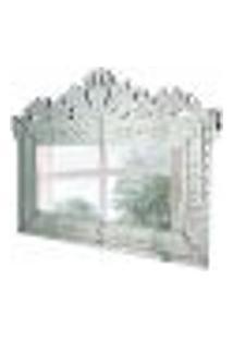 Espelho Decorativo Agostin 90X120 Cm Prata
