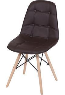 Cadeira Eames Dsw Botonê Café