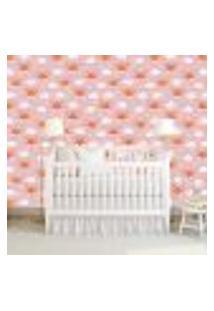 Papel De Parede Adesivo - Raposas - Infantil - Rosa - 337Ppi