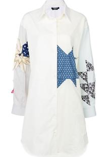 Calvin Klein 205W39Nyc Star Shirt Dress - Branco