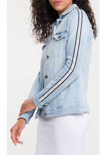 Jaqueta Jeans Trucker - Azul Claro - P