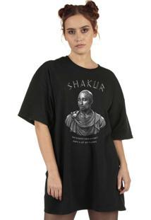 Blusa Skull Clothing Eternal King Preta
