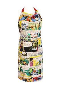 Avental De Cozinha Quadrinhos Hq Dc Comics Colorido