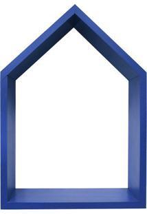 Nicho Home Sweet Home- Azul- 33X48X11Cm- Kaposkapos
