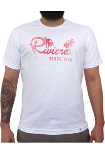 Riviera Vintage - Camiseta Clássica Masculina