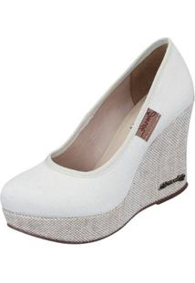 Scarpin Barth Shoes Land - Feminino-Off White