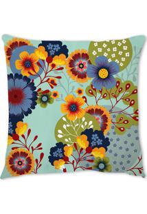 Capa De Almofada Renata Sader Spring Azul 45X45Cm - Kanui