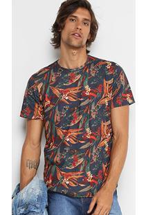 Camiseta Redley Full Print Floricultura Masculina - Masculino