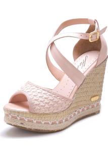 Sandã¡Lia Anabela Sb Shoes Ref.3207 - Feminino - Tãªxtil - Dafiti
