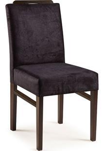 Cadeira Com Espaldar 6113-Monte Carlo - Castanho