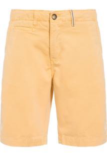 Bermuda Masculina Chino - Amarelo
