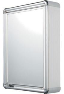 Espelheira Para Banheiro 1 Porta 44Cmx58Cm Astra Cromado