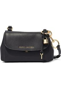 Marc Jacobs Bolsa Transversal The Boho Grind Mini - Preto