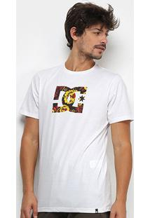 Camiseta Dc Shoes Basic Slim Star Print Masculina - Masculino