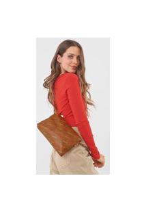 Bolsa Desigual Across Body Bag Intra Caramelo