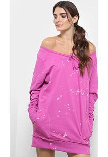 Vestido Diesel Uflt-Molyna - Feminino-Pink