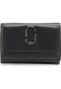 Marc Jacobs Carteira Snapshot Mini - Preto