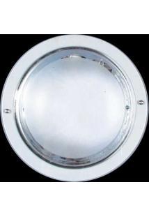 Luminária De Embutir Copo Alumínio Metalizado 2 Lâmpadas Attena