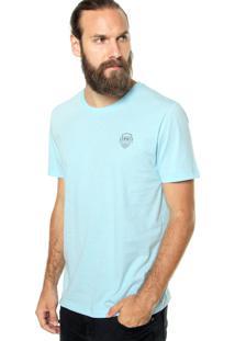 Camiseta Sommer Be Happy Azul