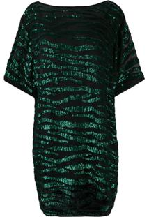 P.A.R.O.S.H. Vestido Com Paetês - Verde