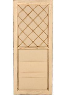 Quadro Porta-Cartão De Visitas Door