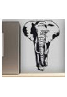 Adesivo De Parede Animais Elefante - Es 120X90Cm