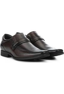 Sapato Social Pipper Duke Masculino - Masculino-Marrom Escuro