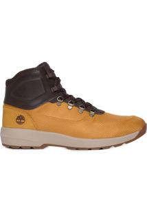 Bota Masculina Westford Mid Emboss Wheat - Marrom