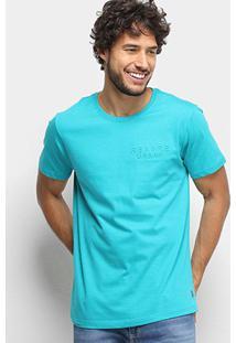 Camiseta Gajang Regore Urban Masculina - Masculino-Verde