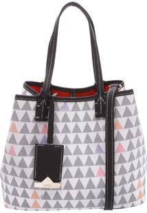 Mini Nina Triangle Pearl - Personalização Bag Charm | Schutz