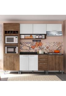 Cozinha Isadora 0424T 9 Portas C/ Tampo – Genialflex - Demolição / Gelo