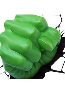 Arandela Hulk 3D Punho Do Hulk Verde Startec