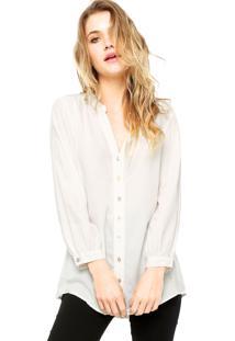 Camisa Manga Longa Enfim Off White