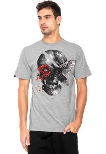 Camiseta Rusty Ac Skullbirds Cinza